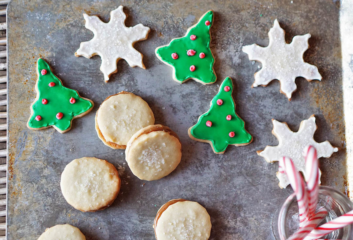 3 Christmas Cookies 1 Shortbread Recipe You Must Love Food